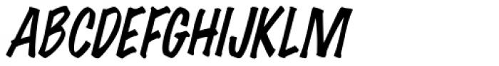 Wichita Italic Font UPPERCASE