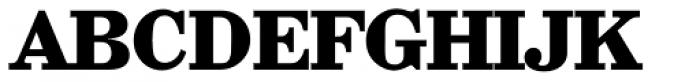 Wichita Serial ExtraBold Font UPPERCASE
