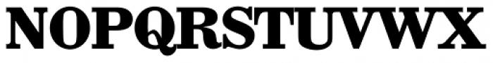 Wichita TS Bold Font UPPERCASE