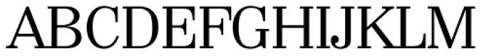 Wichita TS Regular Font UPPERCASE