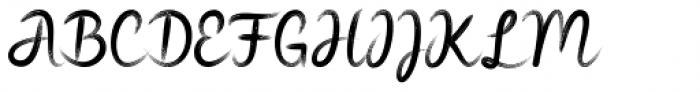 Widia Hand Brush Regular Font UPPERCASE