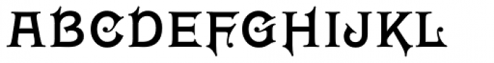 Wieldy Font UPPERCASE