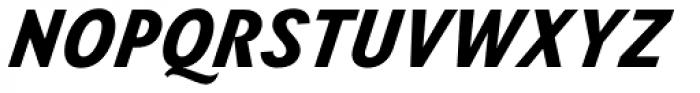 Wien Pro Superoblique Medium Font UPPERCASE