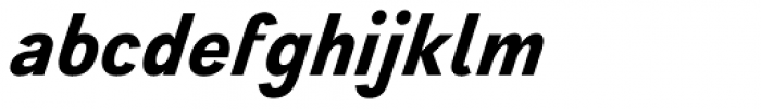 Wien Pro Superoblique Medium Font LOWERCASE