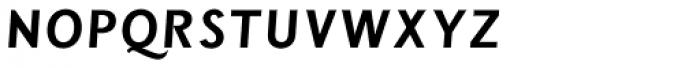 Wien Pro Unic Oblique Light Font UPPERCASE