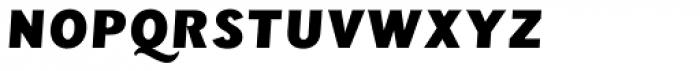 Wien Pro Unic Oblique Medium Font UPPERCASE