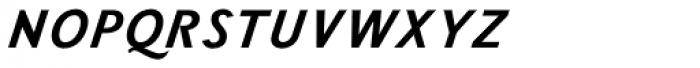Wien Pro Unic Superoblique Light Font UPPERCASE