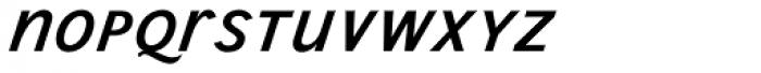 Wien Pro Unic Superoblique Light Font LOWERCASE