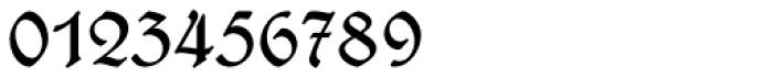 Wieynck Fraktur Regular Font OTHER CHARS