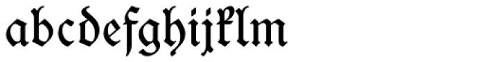 Wieynck Fraktur Regular Font LOWERCASE