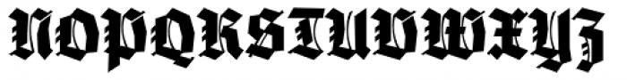 Wieynck Gotisch Normal Font UPPERCASE