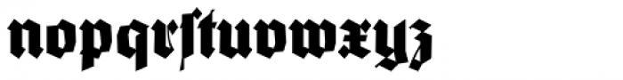 Wieynck Gotisch Normal Font LOWERCASE