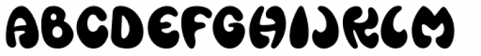 Wild About Myself JNL Font UPPERCASE
