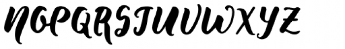 Wild Creatures Jumpy Font UPPERCASE