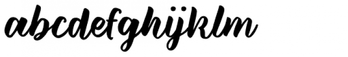 Wild Creatures Jumpy Font LOWERCASE