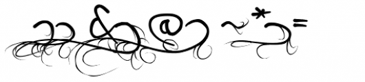 Wild Growth Font OTHER CHARS