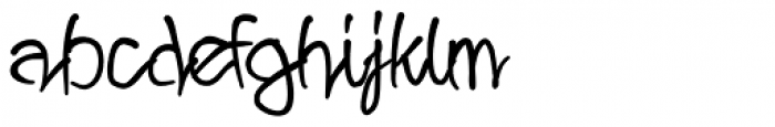 Wild Growth Font LOWERCASE