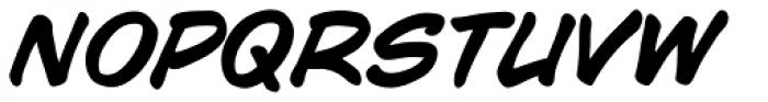 WildWords Bold Italic Font LOWERCASE