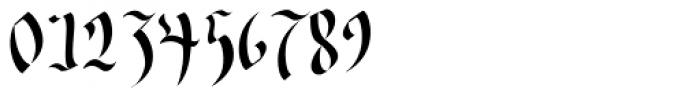 Wilde Fraktur Pro Font OTHER CHARS