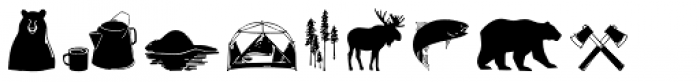 Wilderness Doodles Font LOWERCASE