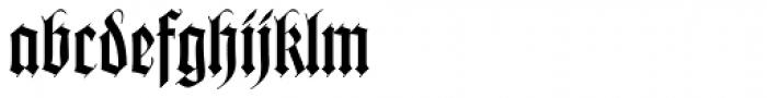 Wilhelm Klingspor Got LT Std Font LOWERCASE