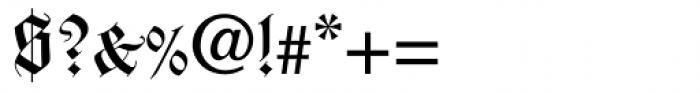 Wilhelm Klingspor Gotisch Com Roman Font OTHER CHARS