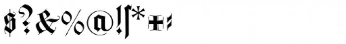 Wilhelm Klingspor Schrift Font OTHER CHARS
