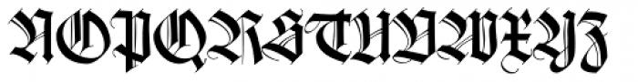 Wilhelm Klingspor Schrift Font UPPERCASE
