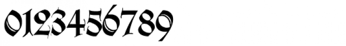 Wilhelmschrift Font OTHER CHARS