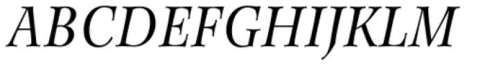 Wilke 56 Italic Font UPPERCASE