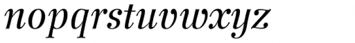 Wilke 56 Italic Font LOWERCASE