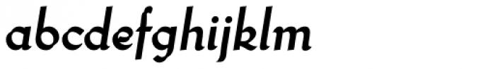 Wilke Kursiv Swash Bold Font LOWERCASE
