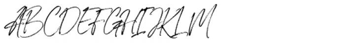 Willcather Alt Font UPPERCASE
