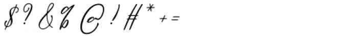 William Regular Font OTHER CHARS