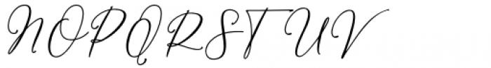 William Regular Font UPPERCASE