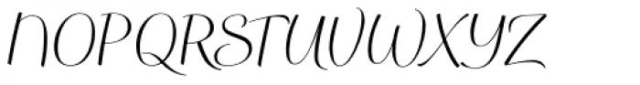 WilliamLucas Std Font UPPERCASE