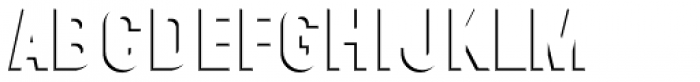 Wilma Ombra Font LOWERCASE