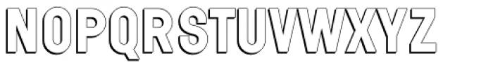 Wilma Volum A Font UPPERCASE
