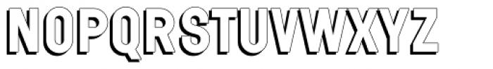Wilma Volum B Font UPPERCASE