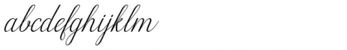Wilona Italic Font LOWERCASE