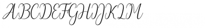 Wilona Regular Font UPPERCASE