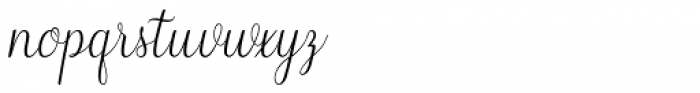 Wilona Regular Font LOWERCASE
