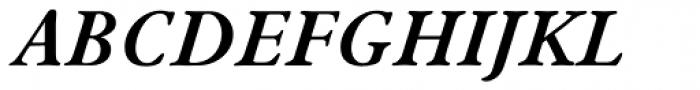Winchester New Bold Italic SC Font UPPERCASE