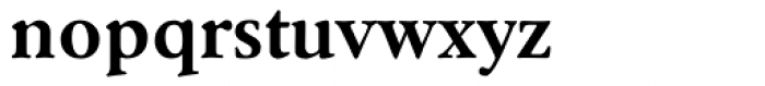 Winchester New Bold OS Font LOWERCASE