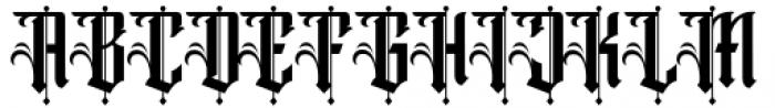 Winchester Regular Font UPPERCASE