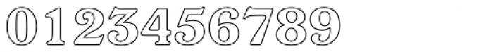 Windsor Com Bold Outline Font OTHER CHARS