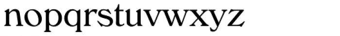 Windsor Com Light Font LOWERCASE