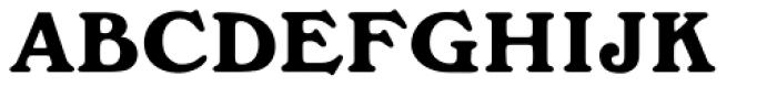 Windsor MN Bold Font UPPERCASE