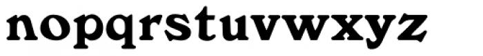 Windsor MN Bold Font LOWERCASE