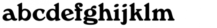 Windsor Font LOWERCASE